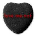 love me not heart