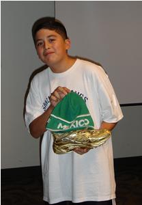 Eduardo is our DDR champion!