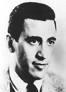 Photo of J.D. Salinger courtesy of Gale's Literature Resource Center