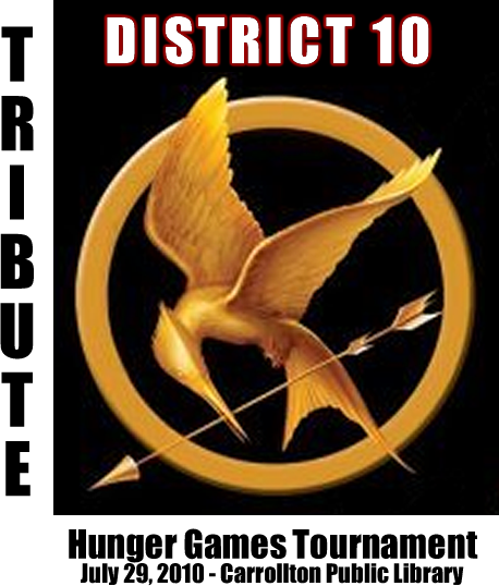 Hunger games button
