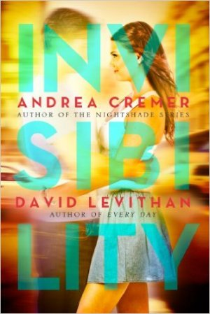 Invisibility by Andrea Cremer & David Levithan Find it here. To break his curse of invisibility, a boy is helped by a girl, who is the only one who can see him.