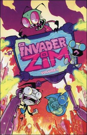 "Graphic Novel Review: ""Invader Zim: Vol. 1"" by Jhonen Vasquez"