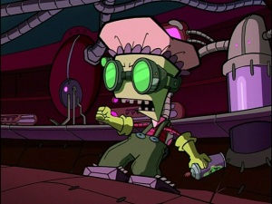 Everything must be disinfected!  From  Zim Wikia