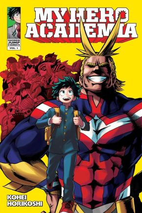 "Manga Review: ""My Hero Academia"" by Kōhei Horikoshi"