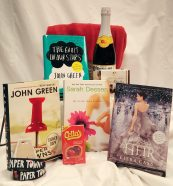 Romantic Reads Keyword: RomanceContains: *Papertowns by John Green, signed book *The Truth About Forever by Sarah Dessen, signed book *The Fault in Our Stars by John Green, book *The Heir by Kiera Cass, book *Papertowns bracelets (x2) *Plush Blanket *Chocolate *Sparkling Cider