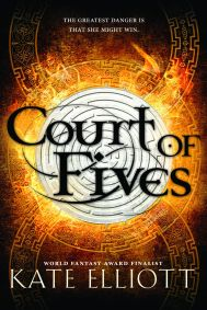 Court of Fives by Kate Elliott When a scheming lord tears Jess's family apart, she must rely on her unlikely friendship with Kal, a high-ranking Patron boy, and her skill at Fives, an intricate, multi-level athletic competition that offers a chance for glory, to protect her Commoner mother and mixed-race sisters and save her father's reputation. Find it here