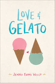 Love and Gelato by Jenna Evans Welch After her mother dies, Lina travels to Italy where she discovers her mothers's journal and sets off on an adventure to unearth her mother's secrets Find it here