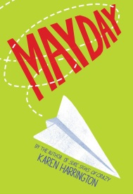 Mayday by Karen Harrington Twelve-year-old Wayne Kovok loses his uncle to war and his voice to a plane crash in the same year and must learn to speak up as he navigates relationships with his father, grandfather, and new friend, Denny Rosenblatt Find it here
