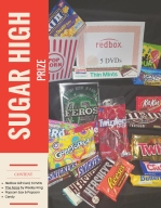 Contents • Redbox Gift Card, 5 DVDs • The Feros by Wesley King • Popcorn box & Popcorn • Candy