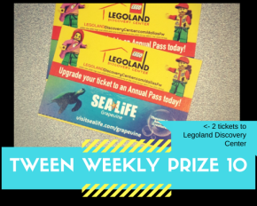 Tween Weekly Prizes