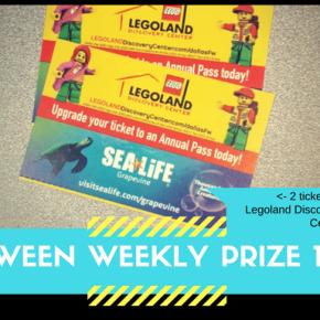 Tween Weekly Prizes